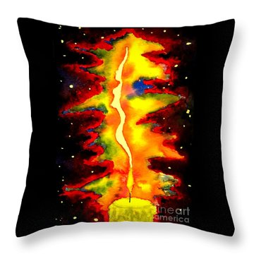 Feminine Spirit Throw Pillow