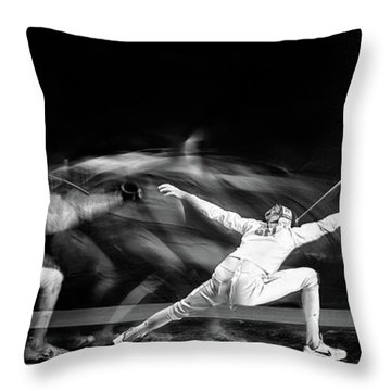 Fences Throw Pillows