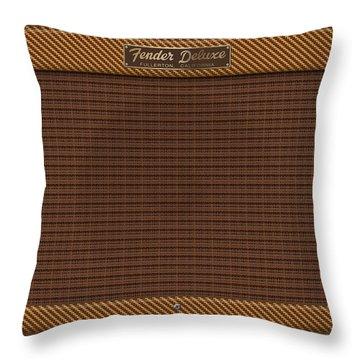 Fender Deluxe Throw Pillow
