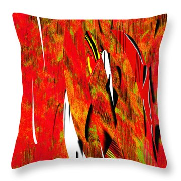 The Emotion Of Childhood Throw Pillow by Yul Olaivar