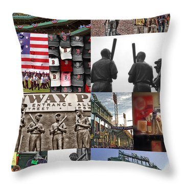 Fenway Memories Throw Pillow