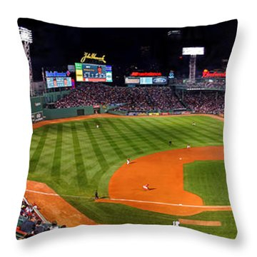 Fenway Park Boston 0476 Throw Pillow