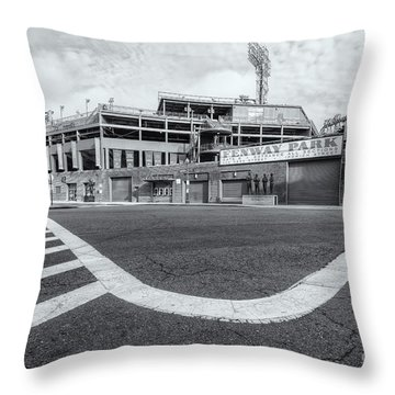 Fenway Park Vi Throw Pillow by Clarence Holmes