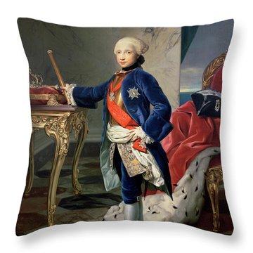 Ferdinand Iv, King Of Naples Throw Pillow