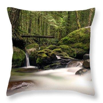 Moss Throw Pillows