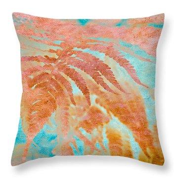 Fern Impressions Art Throw Pillow