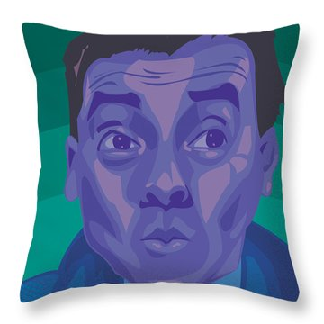 Fernandel Throw Pillow by Whitney Morton