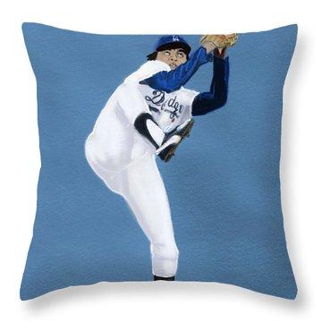 Fernandomania  Throw Pillow by Jeremy Nash