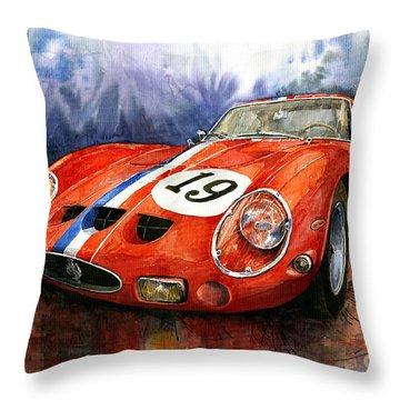 Ferrari 250 Gto 1963 Throw Pillow