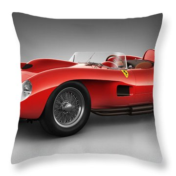 Ferrari 250 Testa Rossa - Spirit Throw Pillow