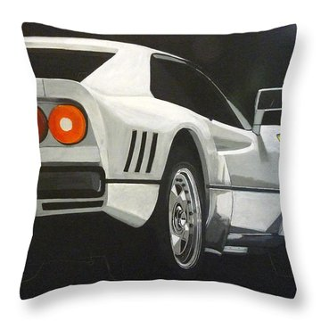 Throw Pillow featuring the painting Ferrari 288 Gto by Richard Le Page