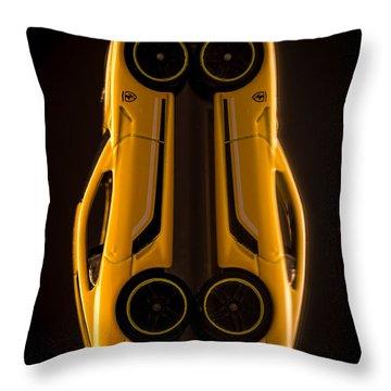 Ferrari 599 Gtb Fiorano Throw Pillow