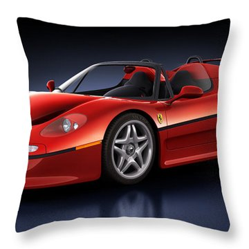 Ferrari F50 - Phantasm Throw Pillow
