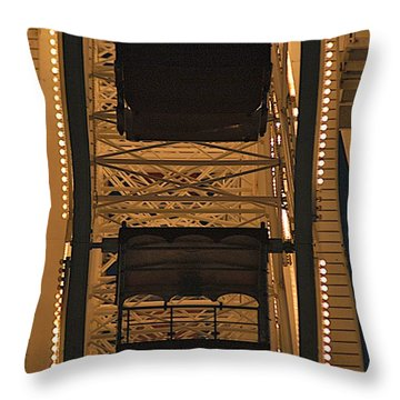 Ferris Throw Pillow by Joseph Yarbrough