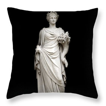 Throw Pillow featuring the photograph Fertility by Fabrizio Troiani