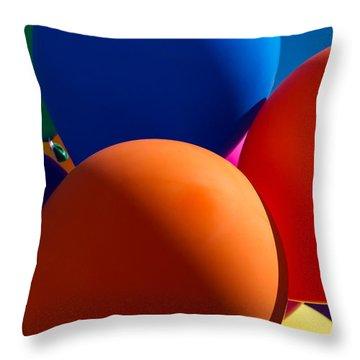 Festive Mood - Featured 2 Throw Pillow by Alexander Senin