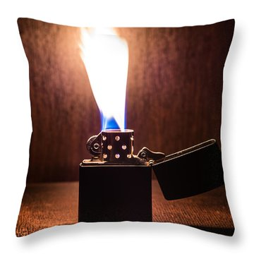 Feuer Throw Pillow by Tgchan