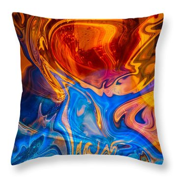 Fever Dreams Throw Pillow by Omaste Witkowski
