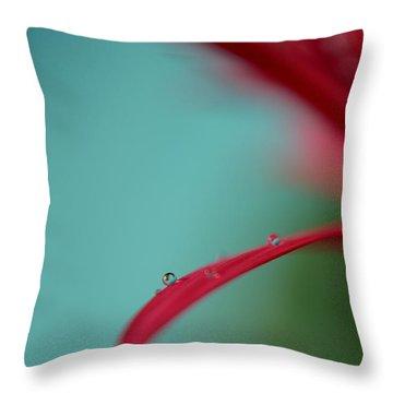 Few Are Those Throw Pillow by Melanie Moraga