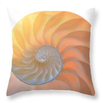 Throw Pillow featuring the photograph Fibonacci by Melanie Moraga