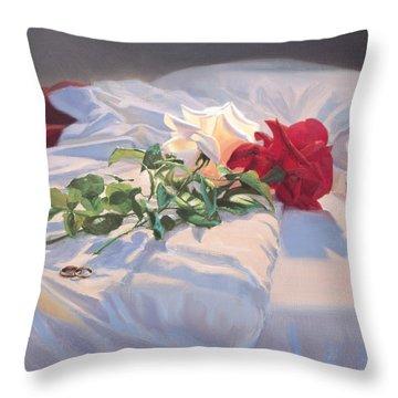 Fidelity Throw Pillow
