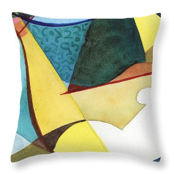 Fidgety Throw Pillow