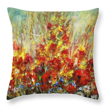Fields Of Dreams II Throw Pillow