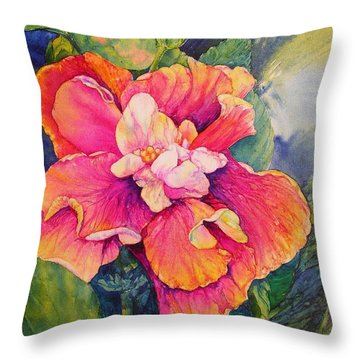 Fiesta Petals Throw Pillow