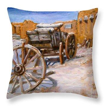 Fifth Wheel Throw Pillow