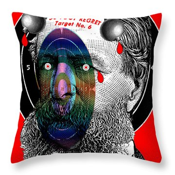 Fifty-foot Regret Throw Pillow
