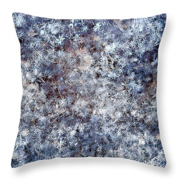 Fifty Shades Of White Throw Pillow by Alexander Senin
