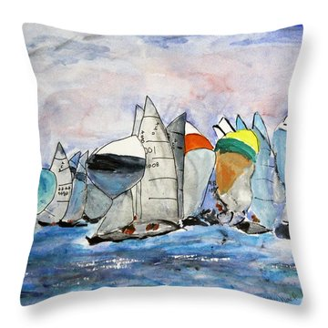 Figawi Dash Throw Pillow
