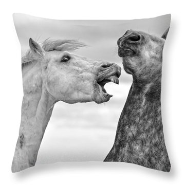 Horse Mane Throw Pillows
