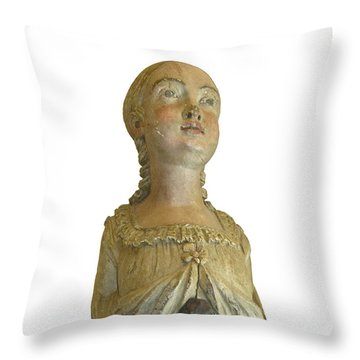 Figure Head Throw Pillow
