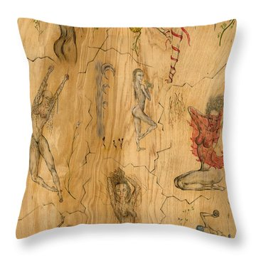 Figures X 8 Throw Pillow
