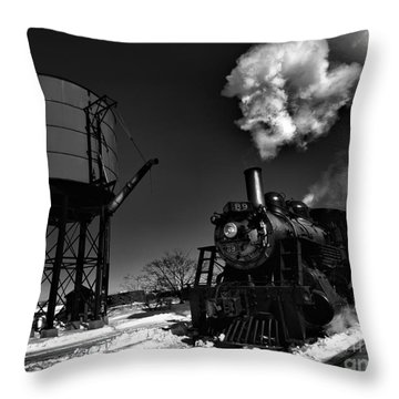 Filler Up Throw Pillow