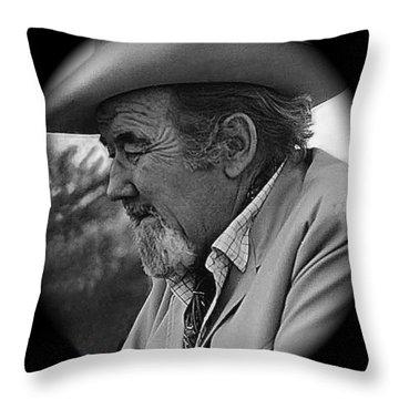 Film Noir Fritz Lang Broderick Crawford Glenn Ford Human Desire 1954 Tucson Arizona 1969 Throw Pillow by David Lee Guss