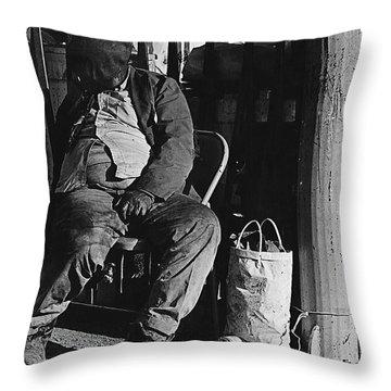 Film Noir Robert Mitchum Where Danger Lives 1950 El Bulla Nogales Sonora Mexico 1968 Throw Pillow by David Lee Guss
