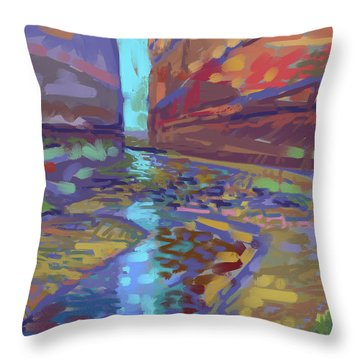 Filtered Light Throw Pillow