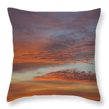 Final 2012 Sunrise Throw Pillow