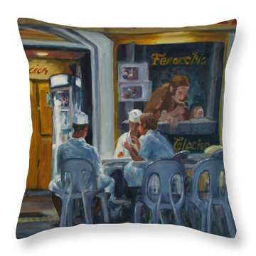 Final Count Throw Pillow by Connie Schaertl