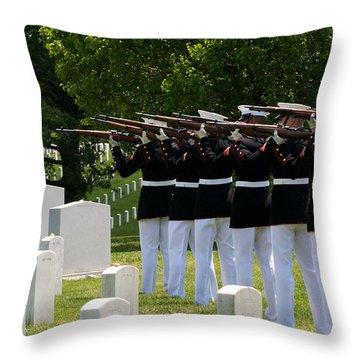 Final Honors Throw Pillow