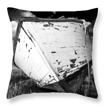 Final Resting Place Throw Pillow by Trevor Chriss