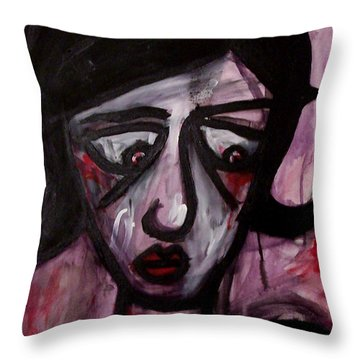 Finals Throw Pillow by Thomas Valentine