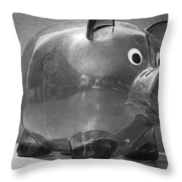 Finances Throw Pillow