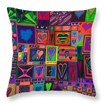Find U'r Love Found Throw Pillow
