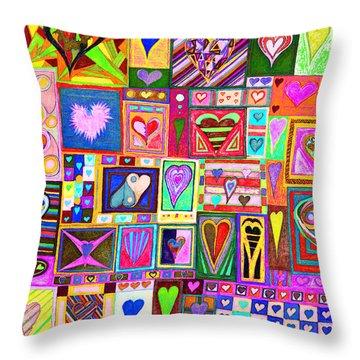 find U'r love found v8 Throw Pillow