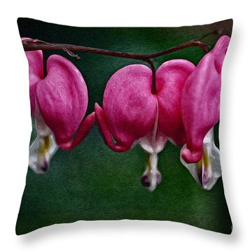 Find Your Heart Throw Pillow by Mary Machare