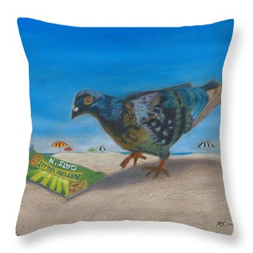 Finders Keepers Throw Pillow by Arlene Crafton