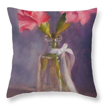 Finding A Home Throw Pillow by Debbie Lamey-MacDonald